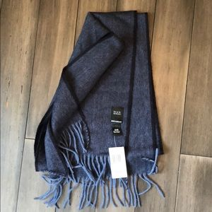 Black by Saks Fifth Avenue 100% Cashmere Scarf